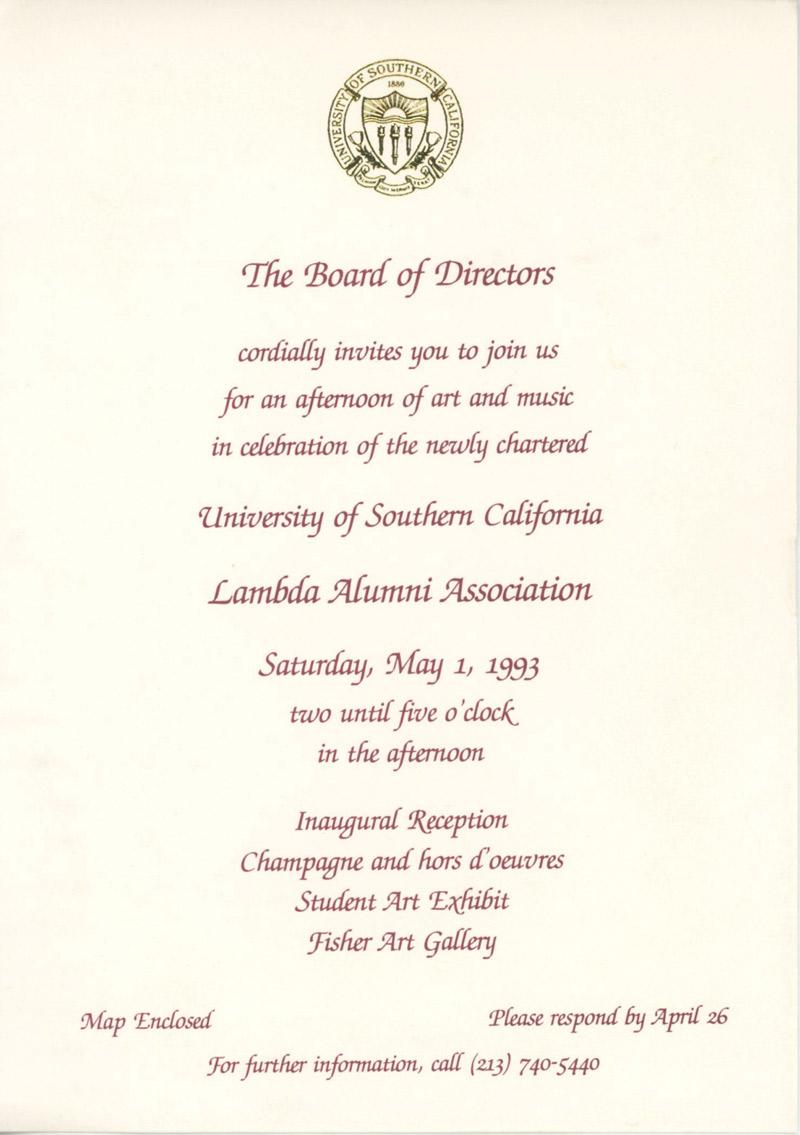 Lambda Alumni Association