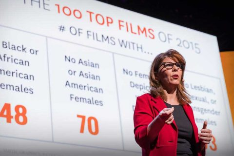 Diversity in Hollywood: Stacy Smith on TED talk stage
