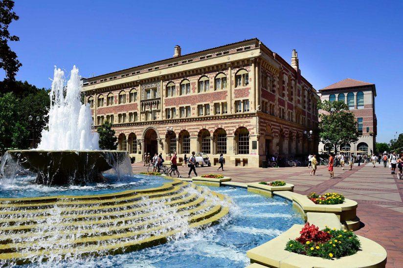 Hahn Plaza fountain