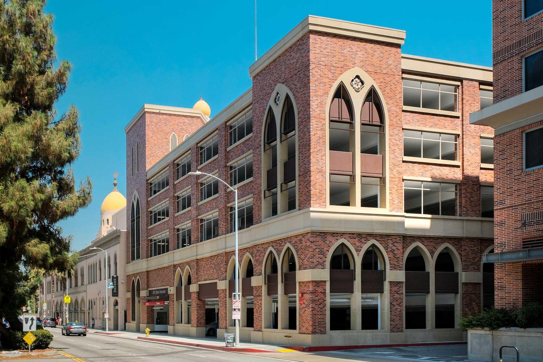 Drive Time Locations >> USC University Park Campus parking structures, entrances ...