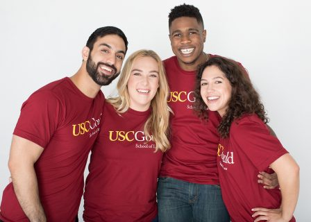 USC Gould law students