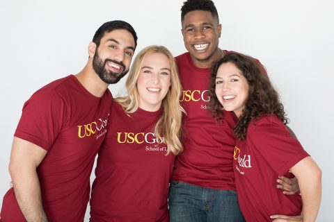 USC Gould students