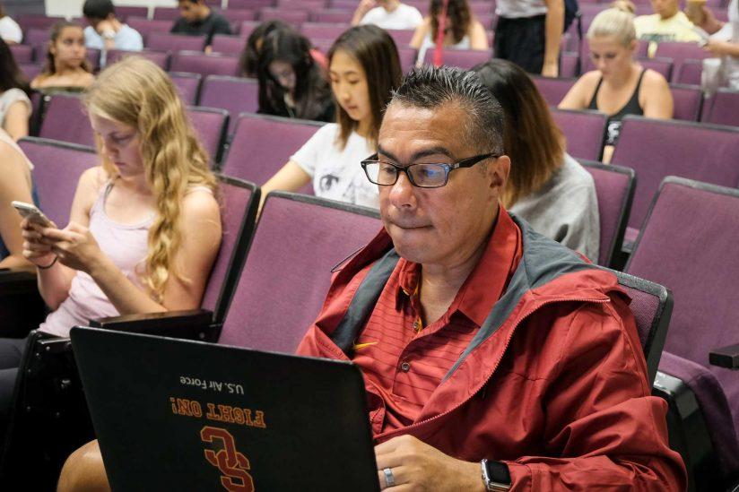 Jimenez in class