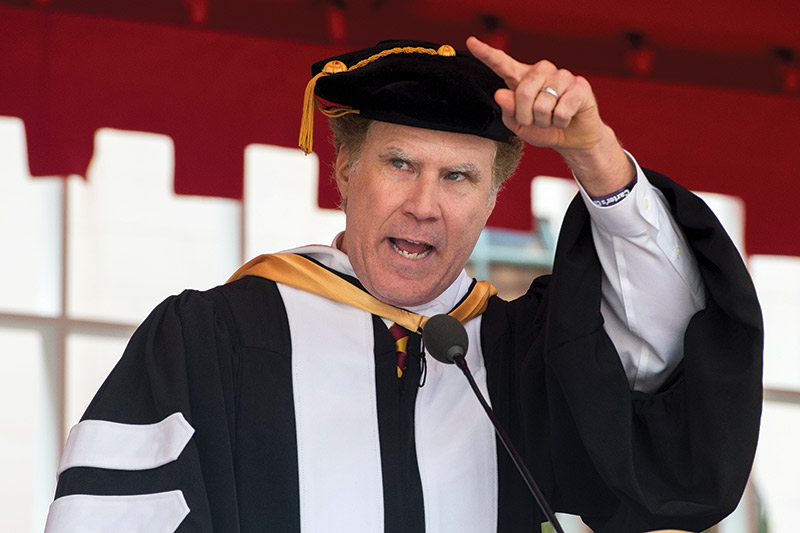 5 Inspiring Quotes From Will Ferrell S 2017 Commencement Speech