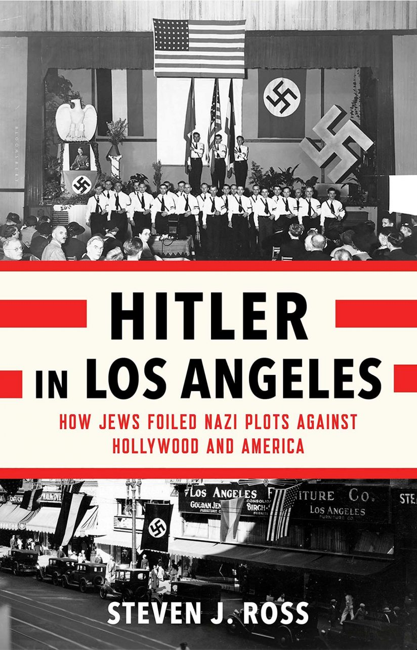 Book cover for Hitler in Los Angeles