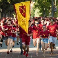 McCarthy Honors College USC Village students