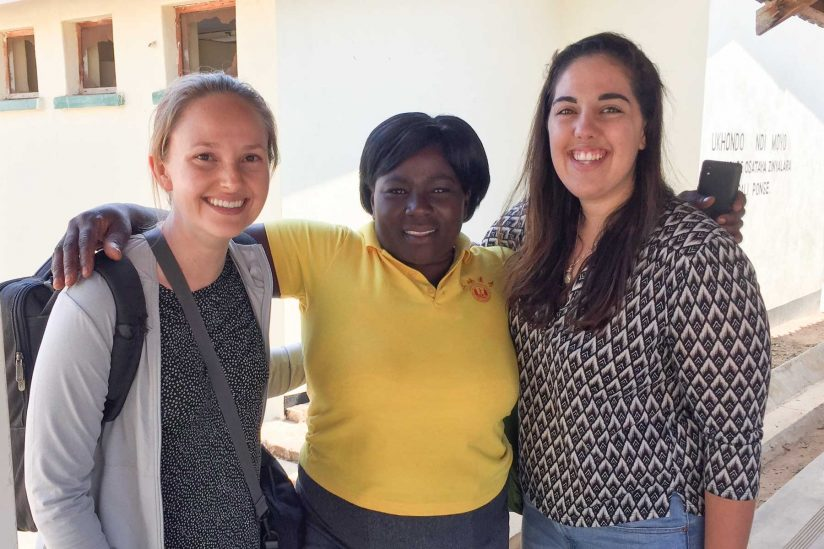 Peggy Ebner, Veronica Ngosi, Natalie Friedricks