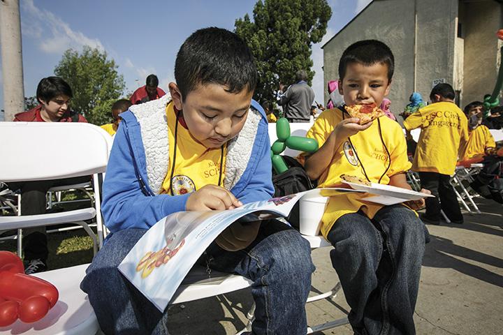 Kinder2College Students