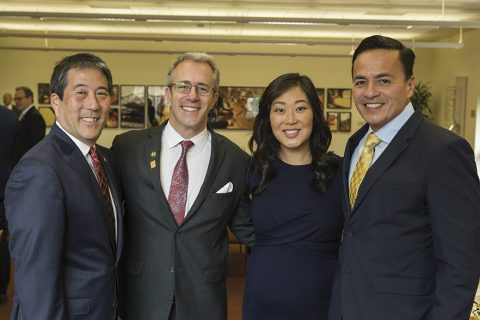Jaime Lee and USC Alumni Association