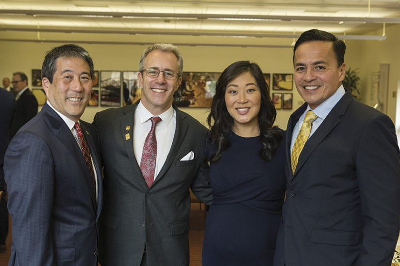Jaime Lee and USC Alumni Association