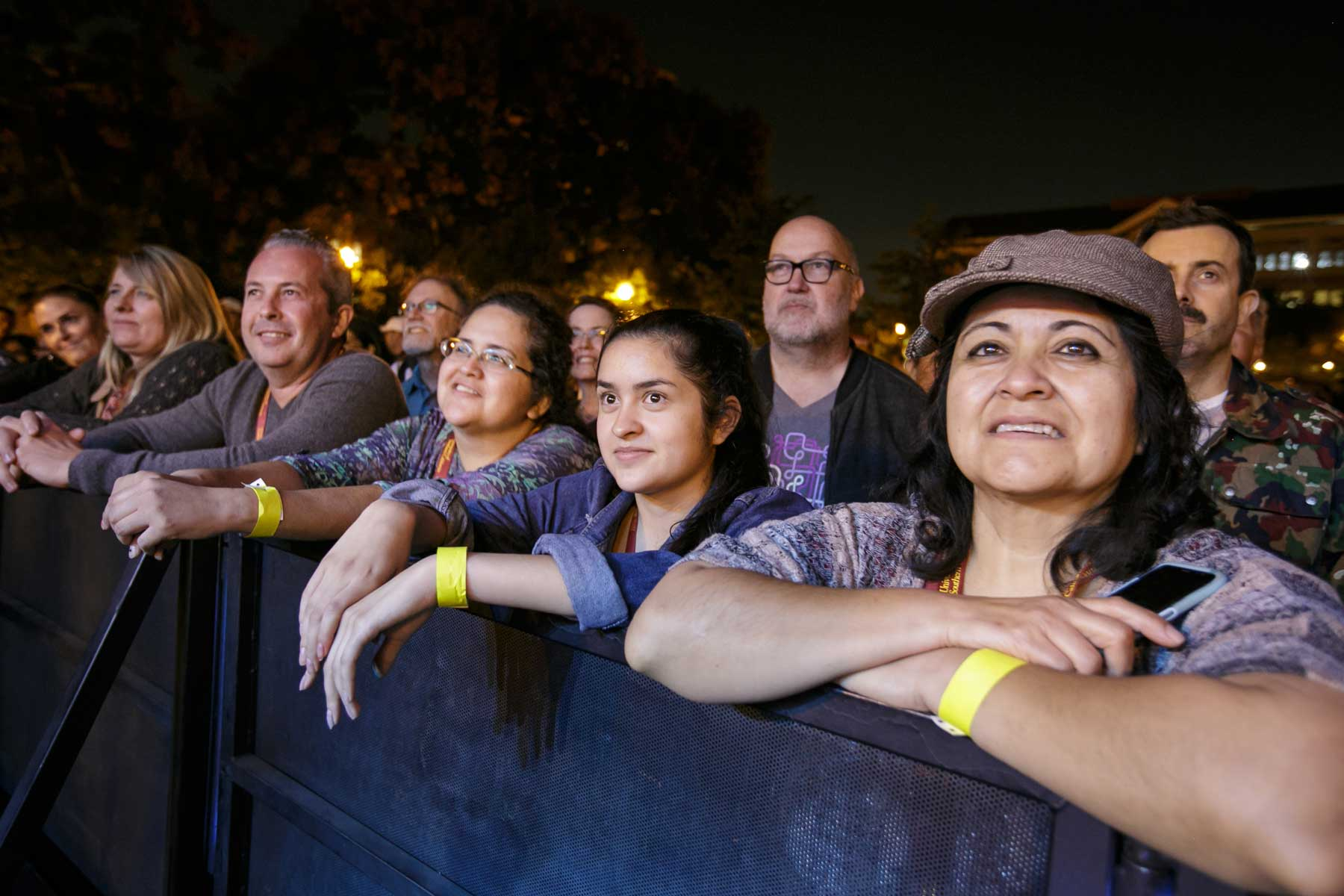 Audience at B52's concert