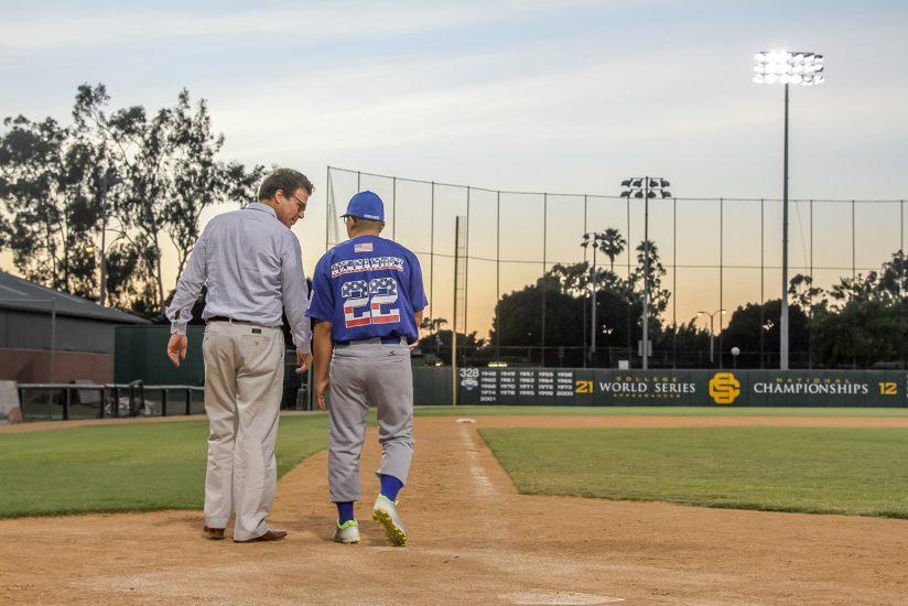 Baseball player deep brain stimulation
