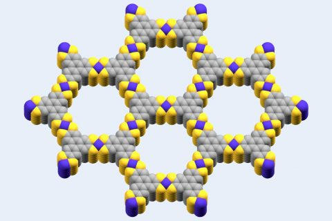 molecular model of cobalt-based metal organic framework