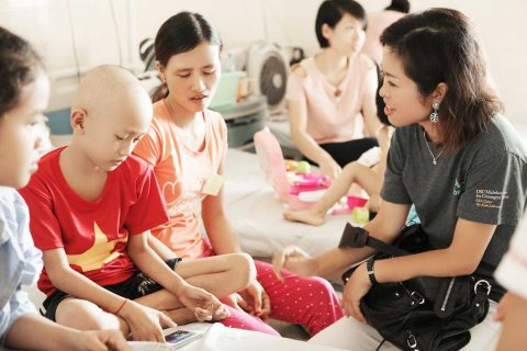 Salt Initiative Thuy Truong in vietnam with patients