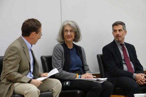 Scott Altman, Elyn Saks and James Bianco