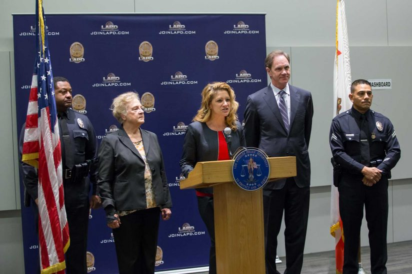 LAPD director of Police Training and education Luann Pannell