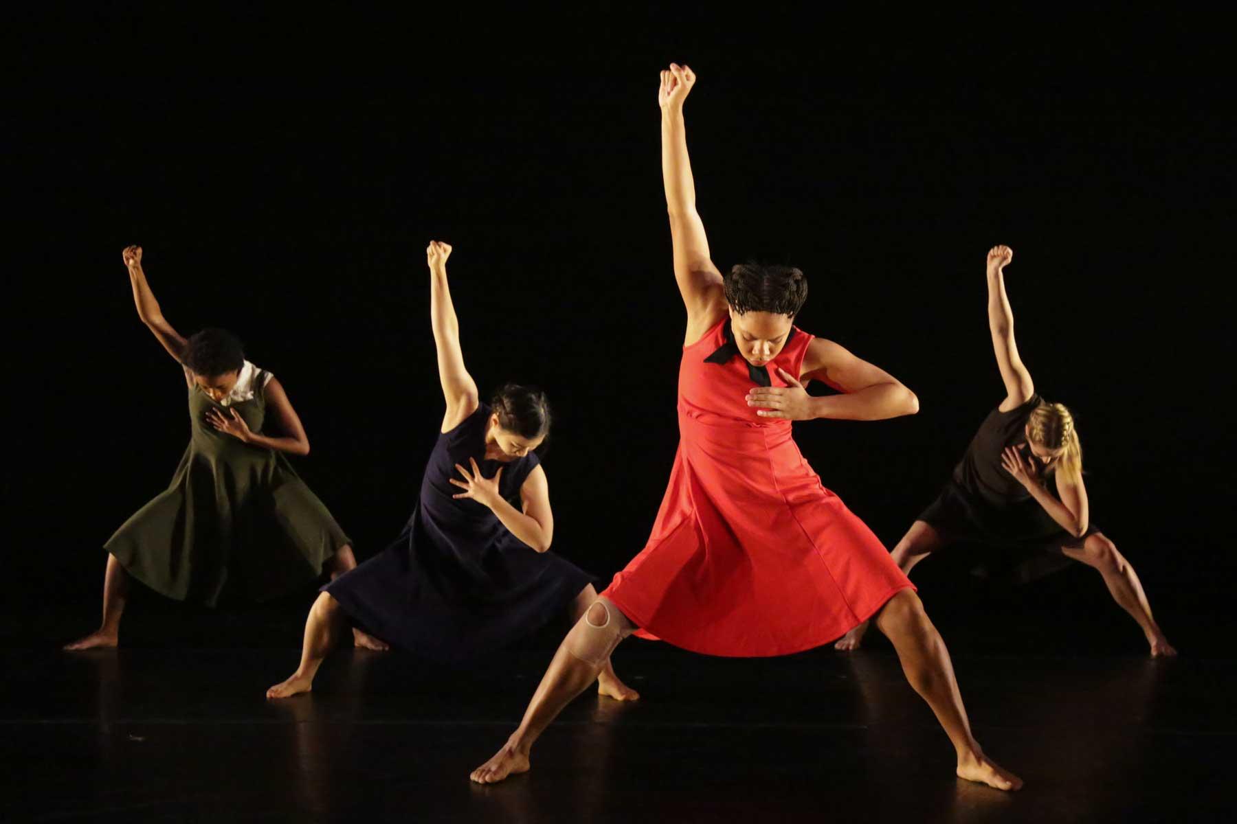 Kaufman dancers onstage