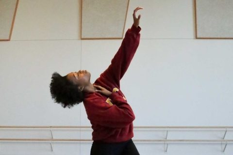 Brianna Sims dance pose