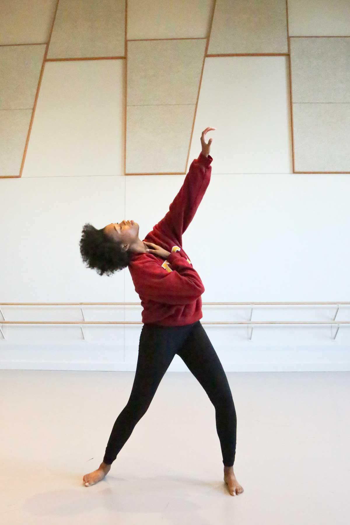 Briana Sims dance