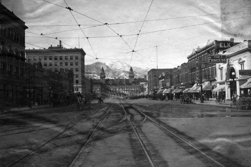 Colorado Springs historical photo 1915