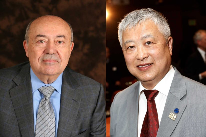 Andrew Viterbi and Ming Hsieh