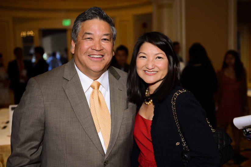 Karen Wong and Scott Lee
