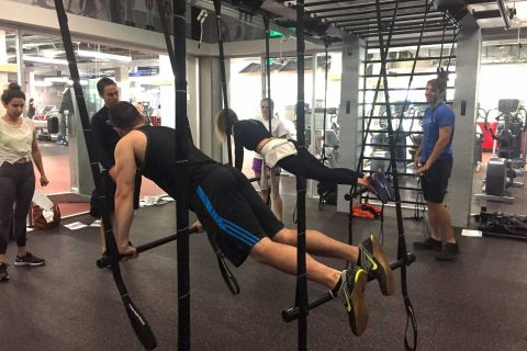 Queenax suspended bodyweight training