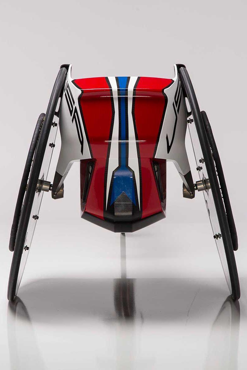 Brad Cracchiola Paralympics Wheelchair