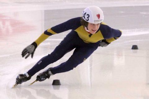 Alex Goldenring speed skating