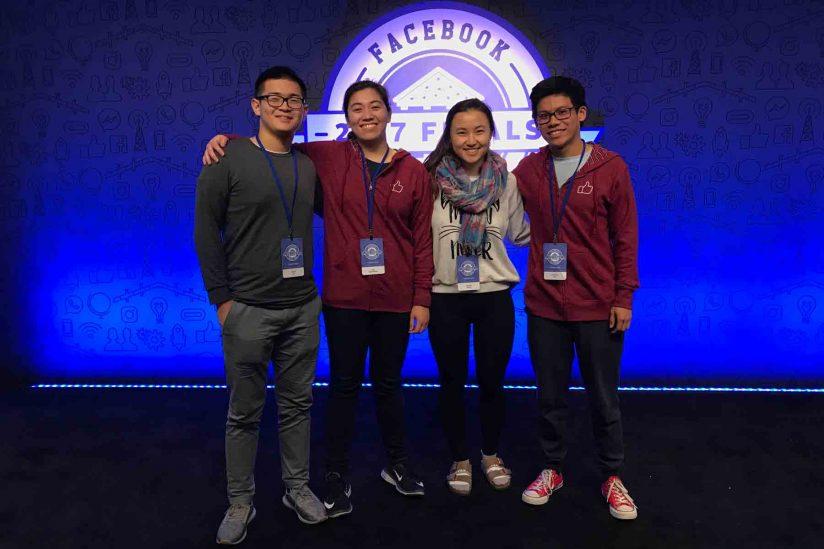 USC computer science team at global hackathon
