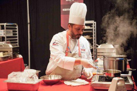 Keith Shutta cooking