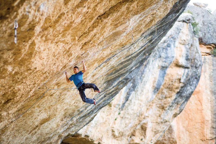 Climber Jonathan Siegrist