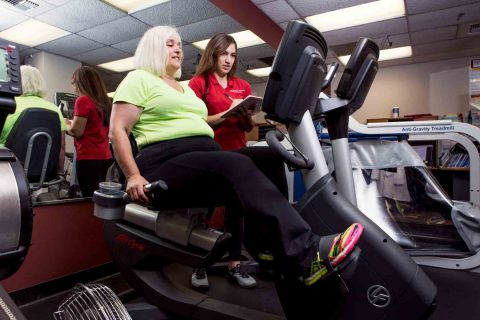 Sylvia Kast stationary bike