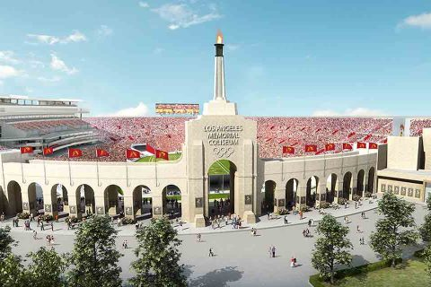 Los Angeles Memorial Coliseum revamp
