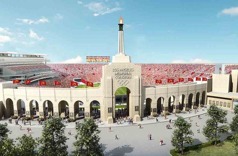 Los Angeles Memorial Coliseum revamp