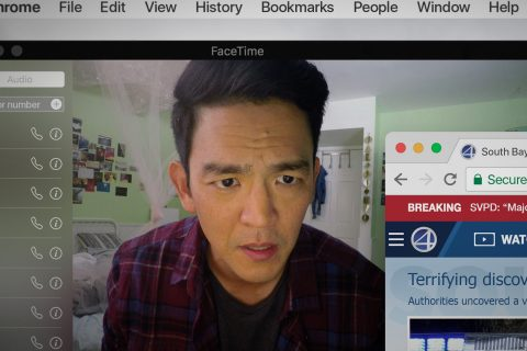 "John Cho in the movie ""Search"""