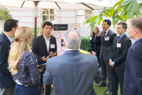 Alvin Liang at Stevens Student Innovator Showcase