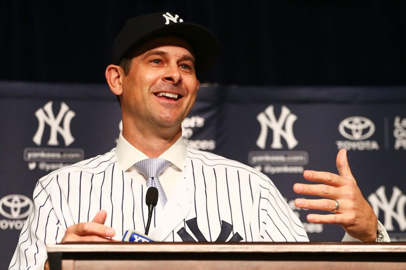 Image result for aaron boone