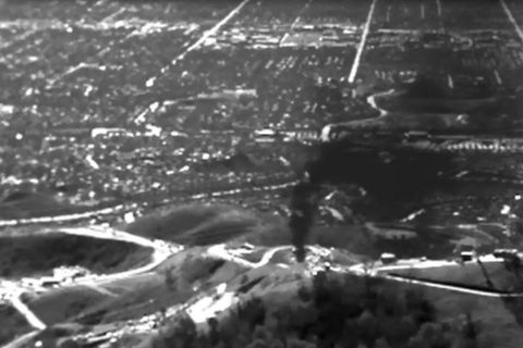 footage of Aliso Canyon gas leak