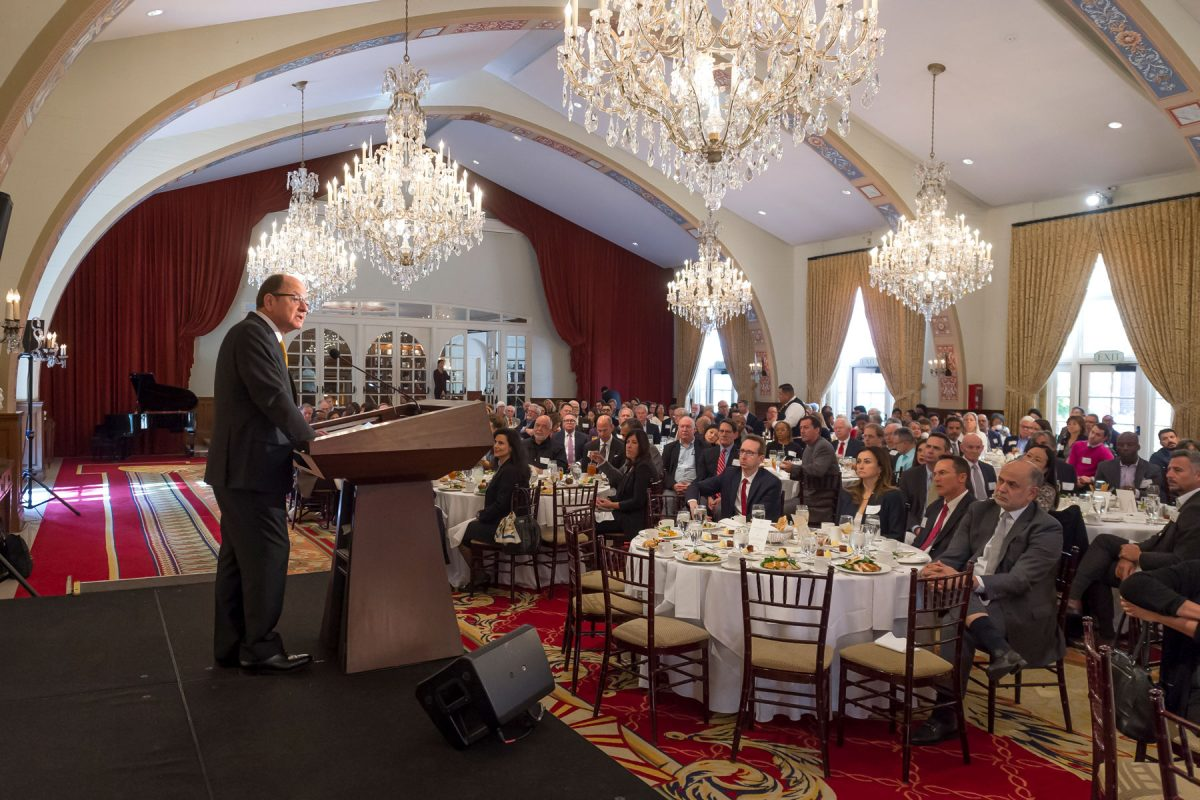 USC President C. L. Max Nikias State of University Address