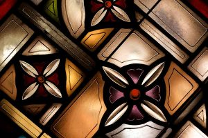 Stained Glass Colorful Life