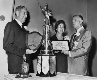 Rosalind Wyman Dodgers USC award