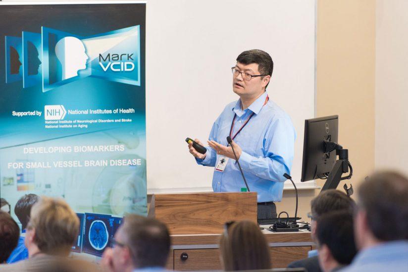 Danny Wang presenting