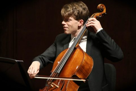 Eric Byers playing cello