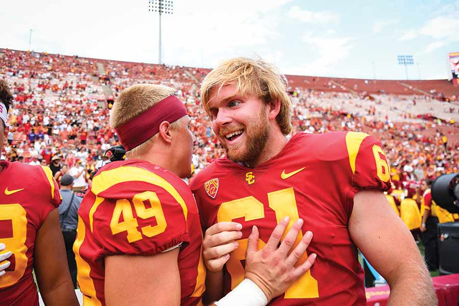 Get To Know Usc Football S Inspiring And Surprising Jake