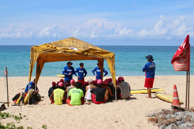 ISLA lifeguards training