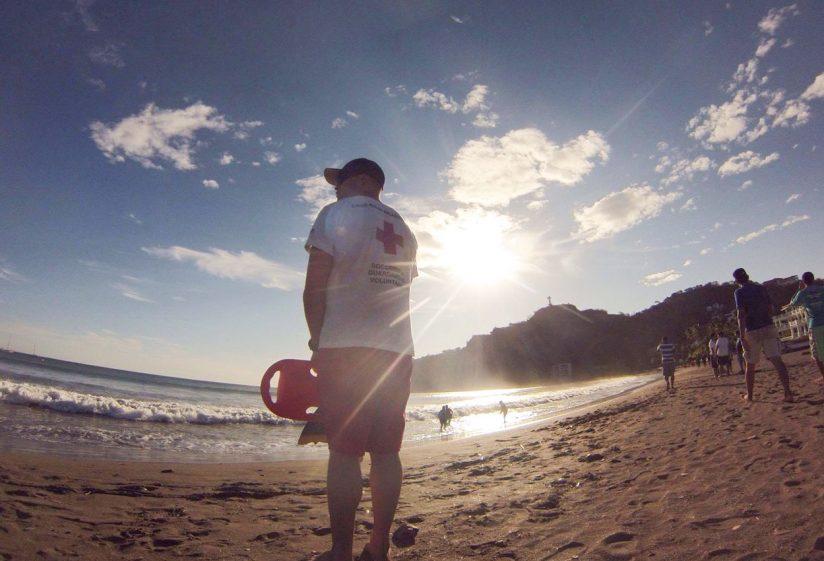Jonathan Robinson lifeguard