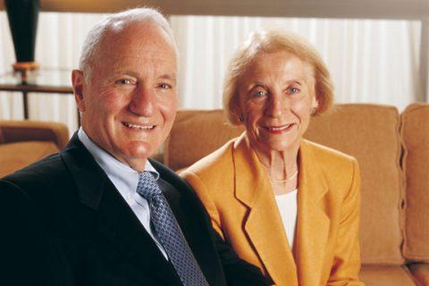 Joseph and Catherine Aresty