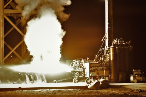 Student rocket project: USC Liquid Propulsion Lab tests rocket engine