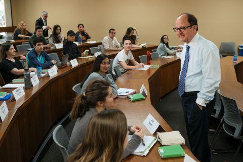 C. L. Max Nikias teaches classics